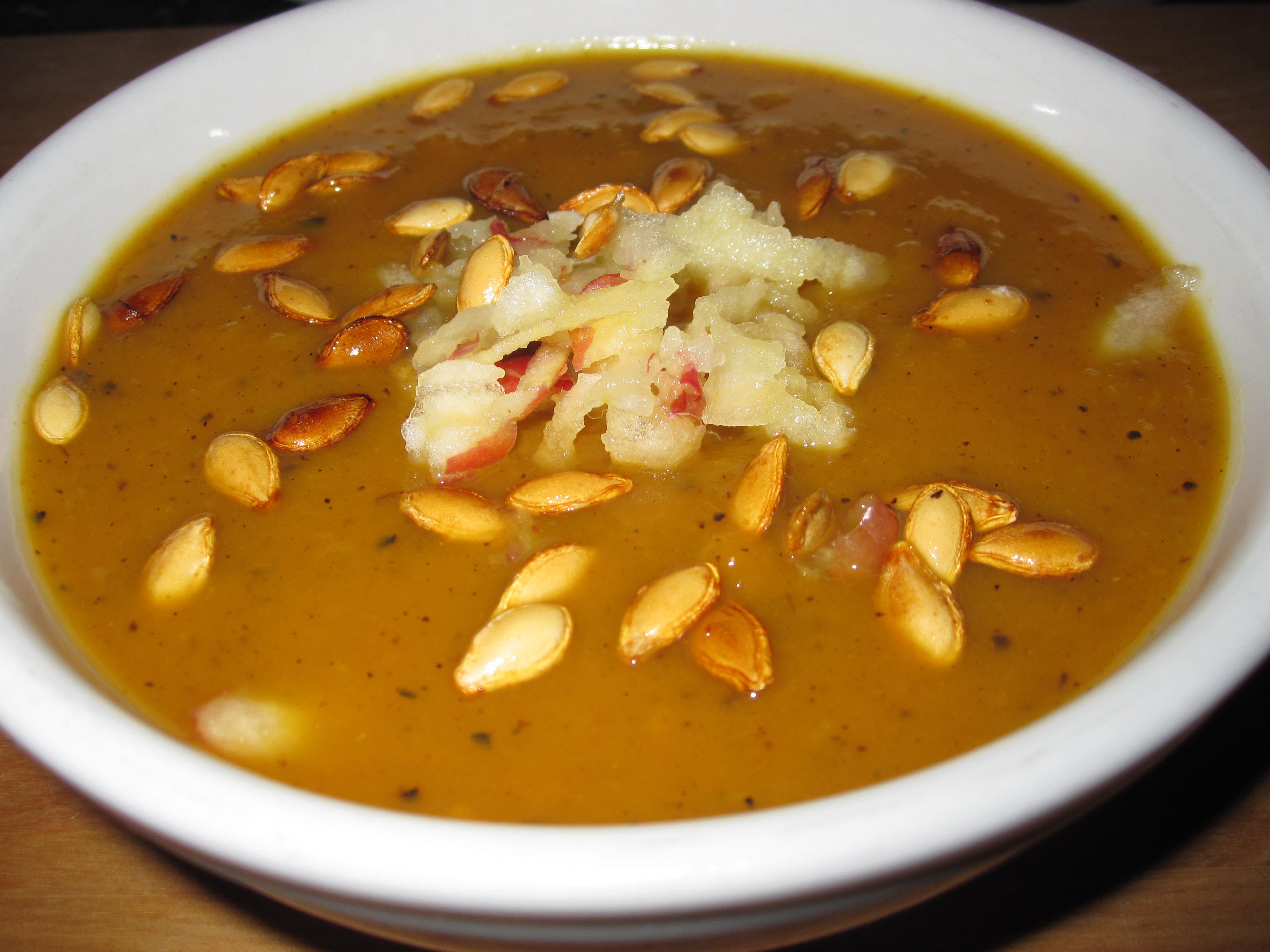 Butternut Squash Soup Snacko Backo