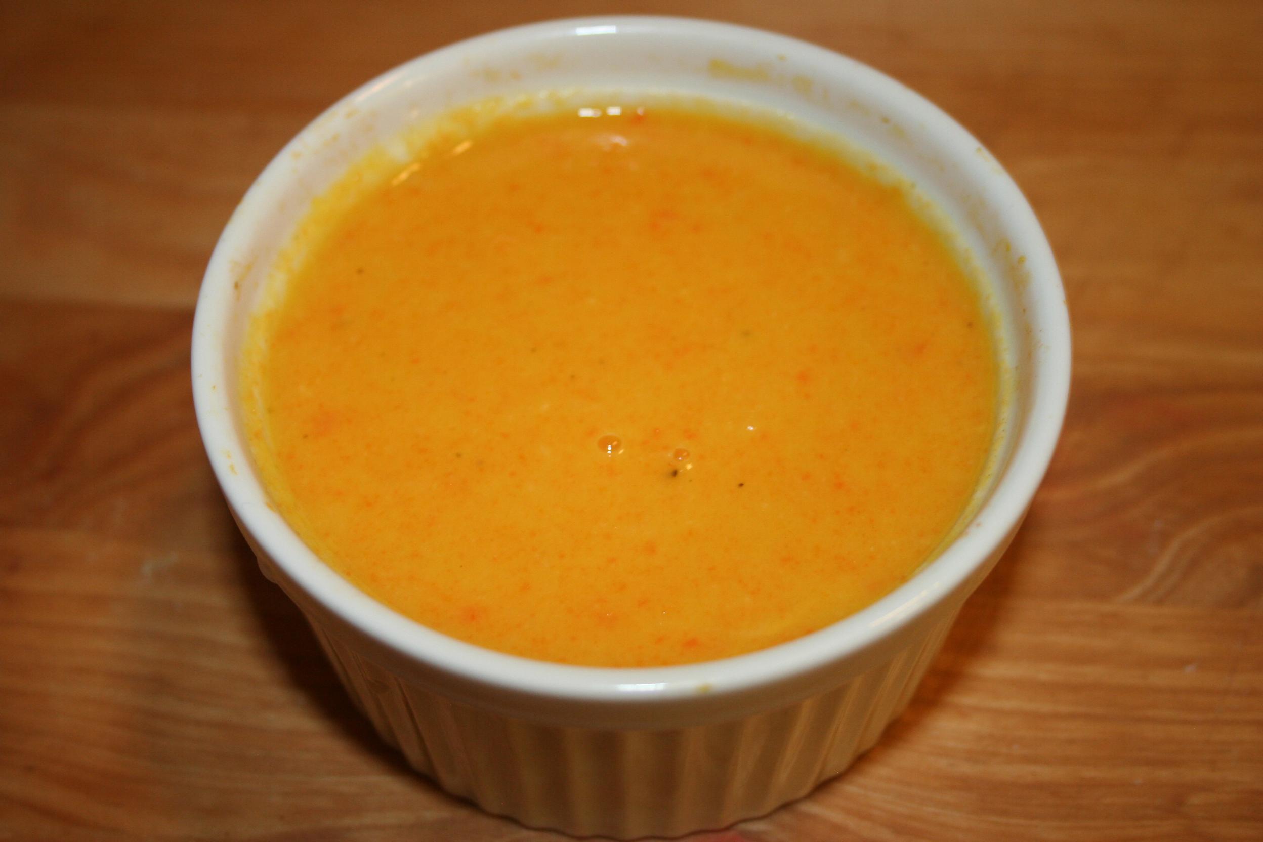 Carrot Ginger Soup Snacko Backo