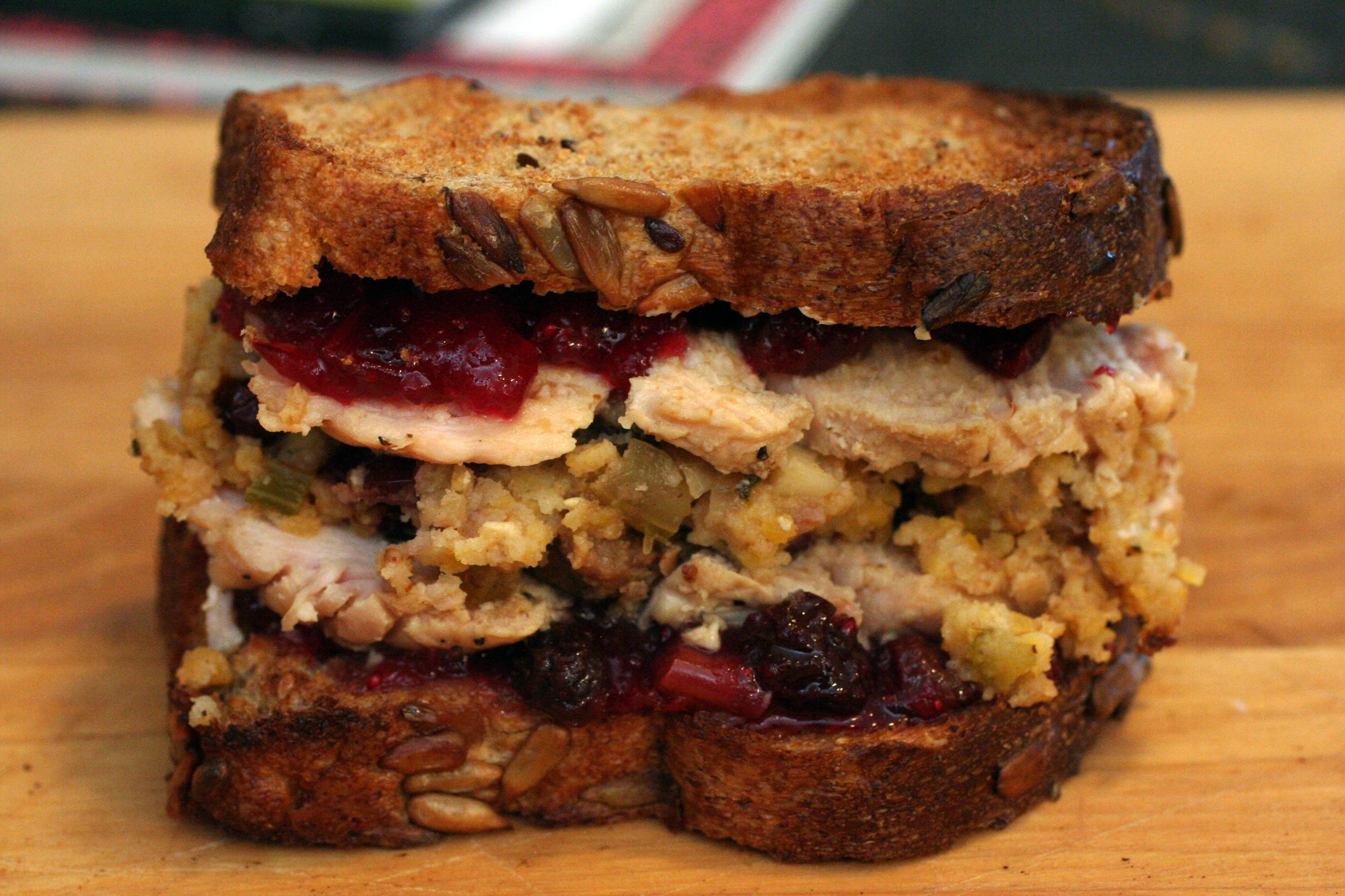 Thanksgiving sandwich snacko backo for Thanksgiving turkey sandwich recipe