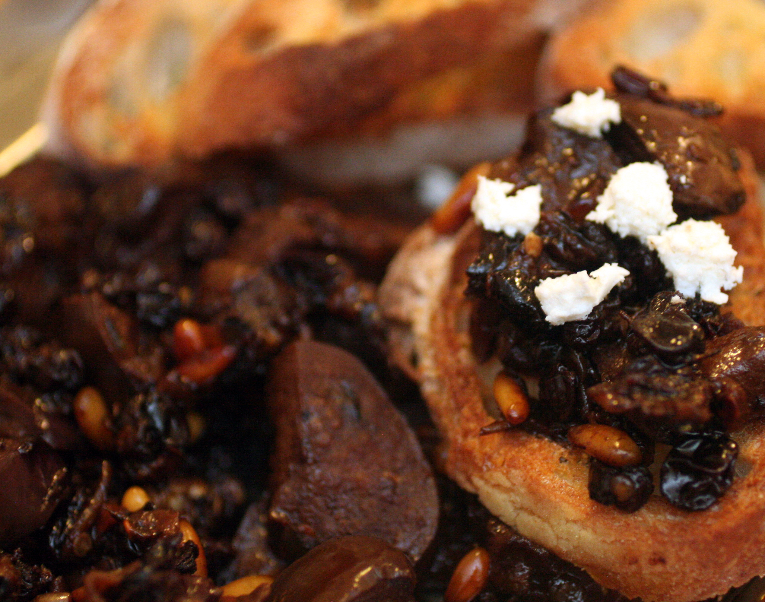 kitchen boss eggplant caponata%0A I like the whole spicy  sweet  u     sour idea of eggplant caponata which is a  Sicilian eggplant relish that is often eaten as appetizer on crostini   toasted