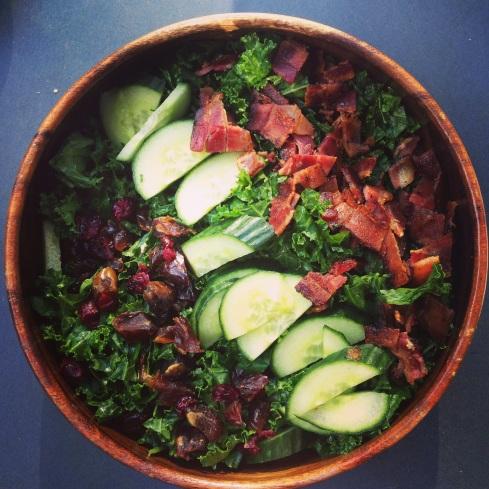 kale bacon