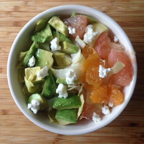 Endive citrus salad